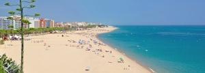 calella strand vakantie spanje costa brava 1
