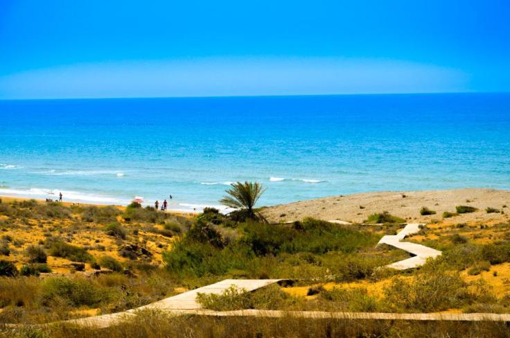 cartagena-spanje mooi strand 003 Playa de Calblanque