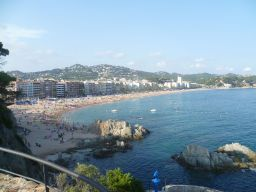Lloret_de_Mar_the_beach strandvakantie