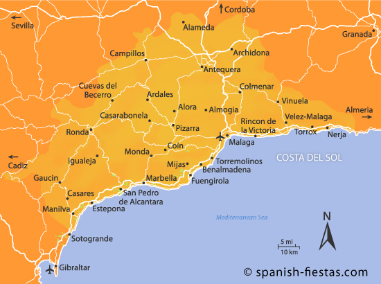 Op Het Strand Costa De Sol Vakantie Spanje 1 Kaart Jpg