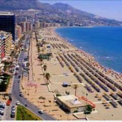 vop het strand costa de sol vakantie spanje 1