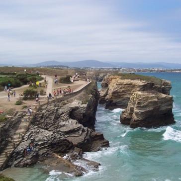 playa de las catedrales top 25 stranden spanje