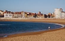 Playa Poniente strand costa tropical vakantie spanje