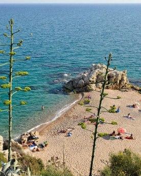 playa strand in-calella vakantie spanje 1