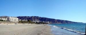 roquetas de mar costa de almeria stranden spanje 1111