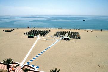 roquetas de mar costa de almeria stranden spanje