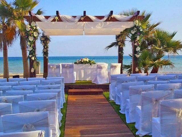 trouwen in spanje op het strand