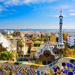 uitzicht vanuit hotel in barcelona