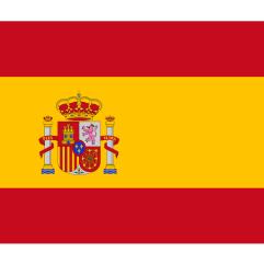vakantie vieren in Spanje - vlag