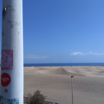 maspalomas gran canaria duinen strandvakantie spanje zee 11