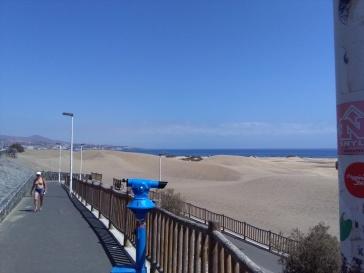 maspalomas gran canaria duinen strandvakantie spanje zee 13