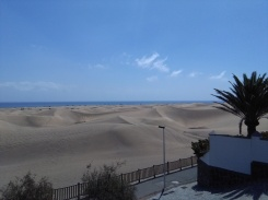 maspalomas gran canaria duinen strandvakantie spanje zee 15