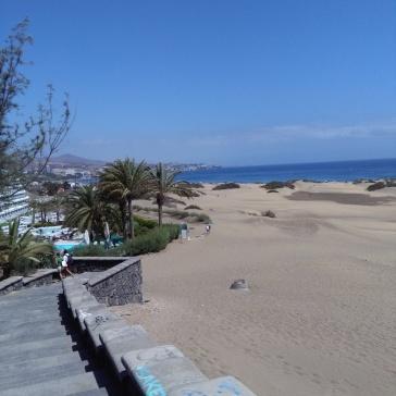 maspalomas gran canaria duinen strandvakantie spanje zee 24
