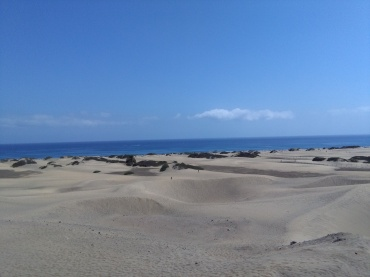 maspalomas gran canaria duinen strandvakantie spanje zee 25