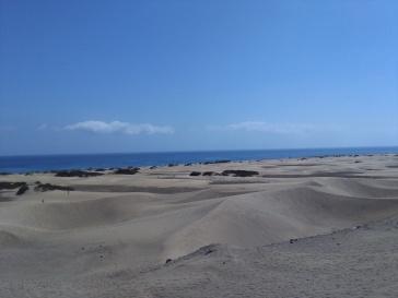 maspalomas gran canaria duinen strandvakantie spanje zee 26