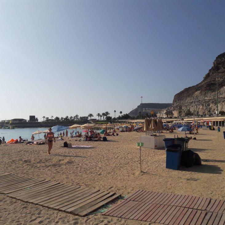 Playa de Amadores - Gran Canaria vakantie Spanje mooie stranden 334242
