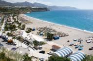 mooiste strand costa del sol playa-de-Burriana-in-Nerja vakantie zuid spanje 001