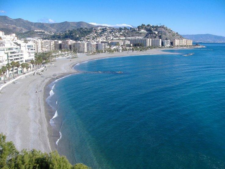 Andalusie - Almuñecar mooiste stranden Spanje vakantie 001