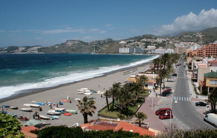 Almuñecar mooiste stranden Spanje vakantie 002 Andalusie