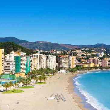 de beste en mooiste stranden van Malaga vakantie in Spanje 002
