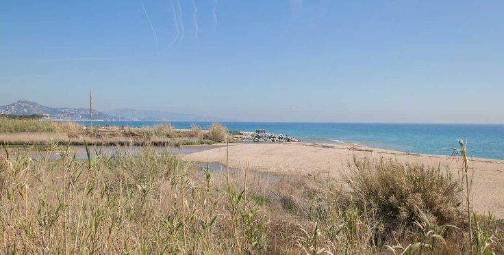 malgrat-platja-punta-tordera mouth beach mooi strand vbakantie SPanje 001