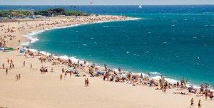 vakantie spanje malgrat-de mar mooi strand 002