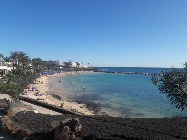 Playa Flamingo kindvriendelijk strand Lanzarote Playa Blanca