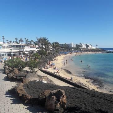 Playa Flamingo - mooi strand Lanzarote