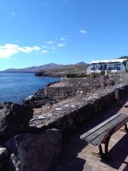 Jachthaven Rubicon Lanzarote lekker zwemmen in de zee
