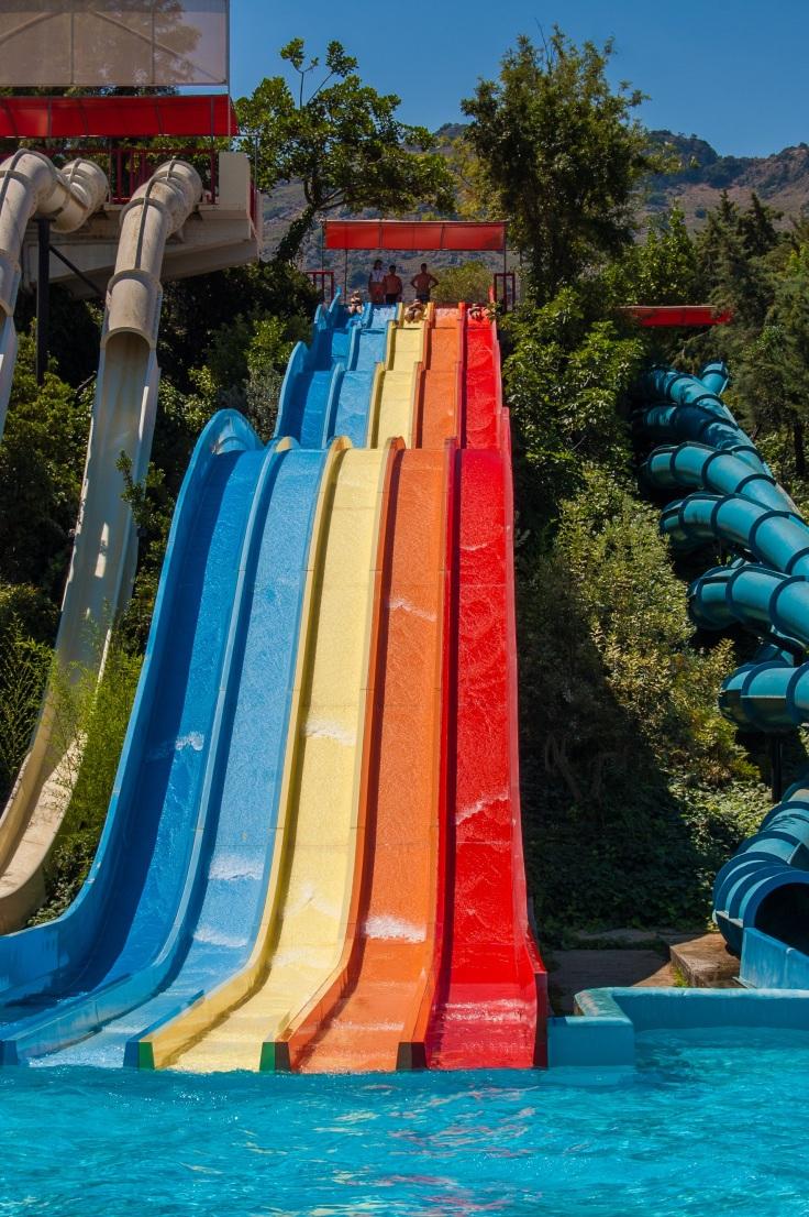 waterpark spanje aquapark met glijbanen 6789