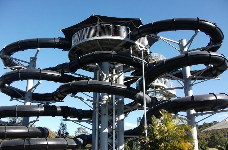 waterpark spanje aquapark met glijbanen 76 53453123